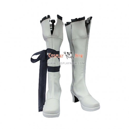 Grey Pandora Hearts Cosplay Shoes Oz Vessalius Boots