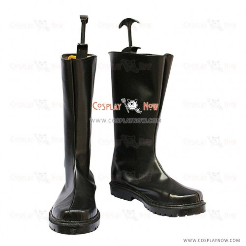 Black Butler Cosplay Shoes Drocell Caines Boots