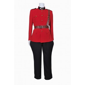 Due South Constable Benton Fraser Cosplay Costume