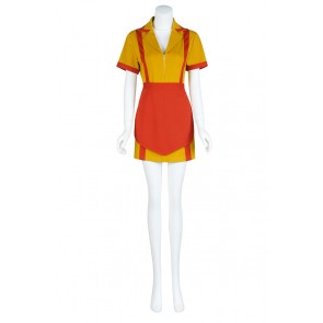 Max Black Caroline Wesbox Channing From 2 Broke Girls Cosplay Costume
