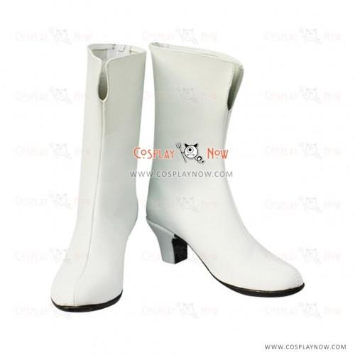 White Gundam Seed Cosplay Boots