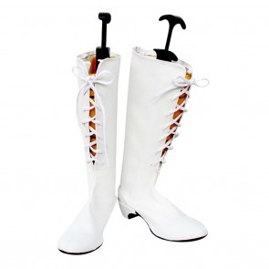 Pandora Hearts Cosplay Shoes Alice White Boots