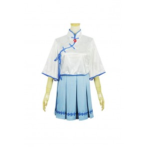 Vocaloid 3 Cosplay Luo Tianyi Dress Costume