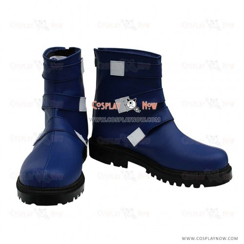 The King of Fighters Cosplay Shoes Chris Shiny Purple Boots