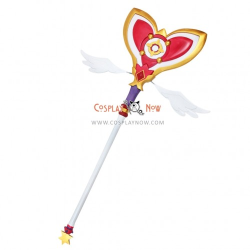 ELSWORD Aisha Dimension Witch Wand PVC Replica Cosplay Prop