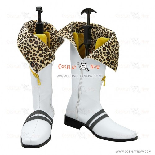 God Eater Cosplay Shoes Haruomi Makabe Boots