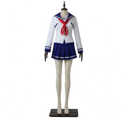Battle Girl High School Cosplay Asuha Kusunoki Costume Uniform