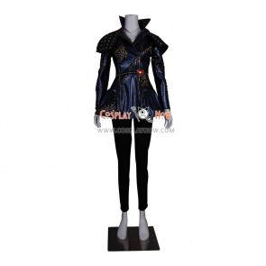 The Descendants Cosplay Costumes Mal Blue Coat