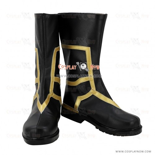 Fate Grand Order FGO Cosplay Shoes Caster Merlin Boots