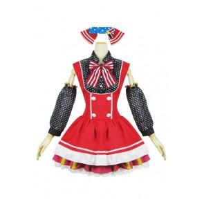 Love Live LoveLive Maki Nishikino Cosplay Costume Maid Dress