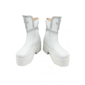 Sword Art Online Cosplay Shoes Yuuki Asuna Short Boots White
