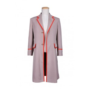 The 5th Doctor Fifth Dr Coat Who Cosplay Costume