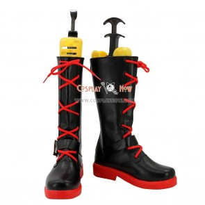 RWBY Cosplay Shoes Red Trailer Ruby Rose Boots