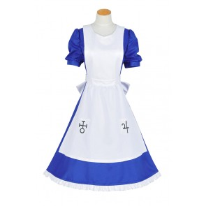 Alice: Madness Returns Cosplay Alice Blue Dress Costume