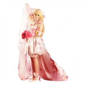Chobits Cosplay Chi Costume Wedding Dress