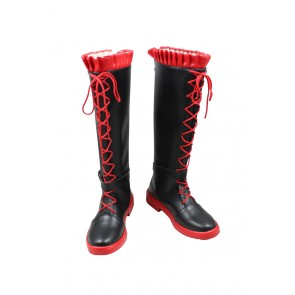 RWBY Cosplay Shoes Ruby Rose Boots