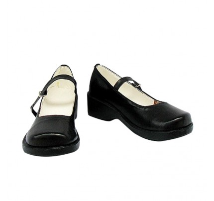 D Gray Man Jamei Rote Cosplay Shoes Boots