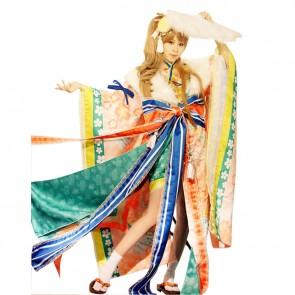 Love Live LoveLive Cosplay Minami Kotori Costume Kimono