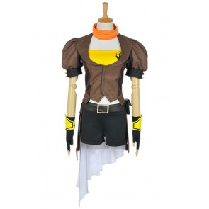 RWBY Cosplay Yellow Trailer Yang Xiao Long Costume