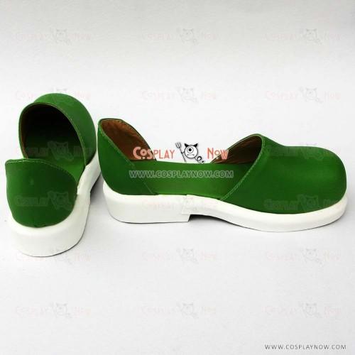Vocaloid Kagamine Rin/Len Green Cosplay Shoes