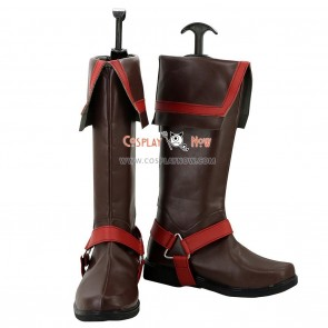 D.Gray-man Cosplay Shoes Allen Walker Boots
