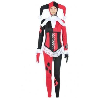 Batman Cosplay Harley Quinn Female Costume