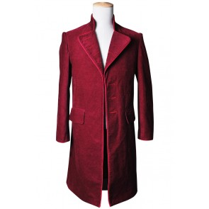 Charlie and the Chocolate Factory Willy Wonka Cosplay Costume Coat