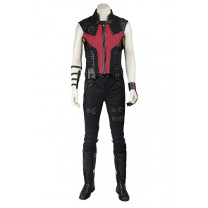The Avengers Cosplay Hawkey Uniform