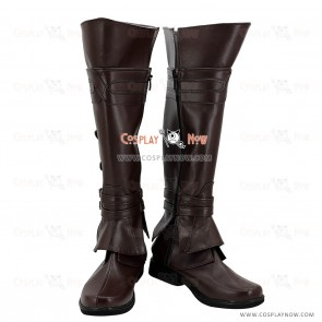 Assassin's Creed II Cosplay Shoes Ezio Auditore Boots