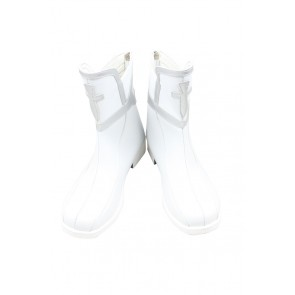 Sword Art Online SAO Cosplay Shoes Yuuki Asuna Short Boots White