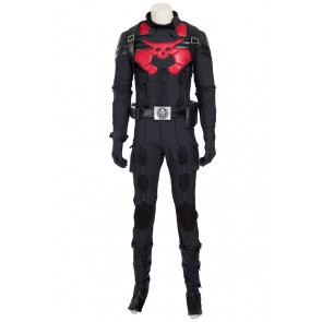 Captain America HYDRA Agents Cosplay Costume Uniform