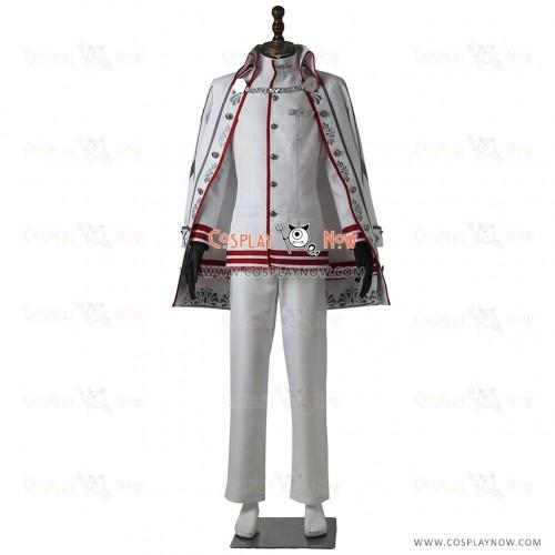 Phantasy Star Online 2 Cosplay Admiral Fleet White Snow Costume Uniform