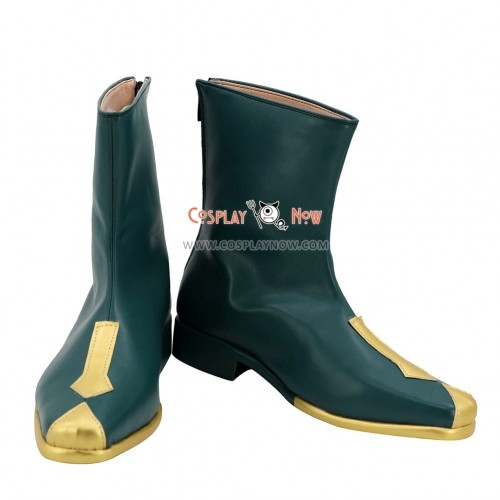 League of Legends LOL Cosplay Shoes Fiora the Grand Duelist Cyan Boots