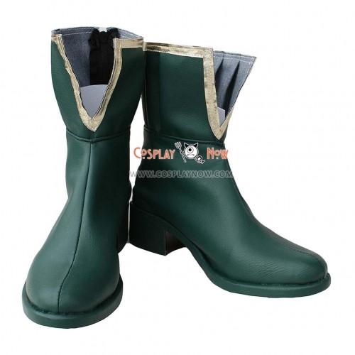 Puella Magi Madoka Magica Cosplay Shoes Miki Sayaka Boots