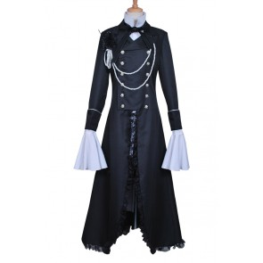 Ciel Phantomhive Black Costume For Black Butler Kuroshitsuji Cosplay