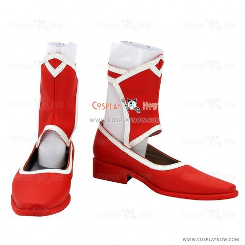 The Legend of Heroes Trails of Cold Steel Alisa Reinford Red Cosplay Shoes