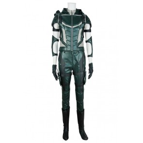 Green Arrow 4 Oliver Queen Cosplay Costume Combat Uniform