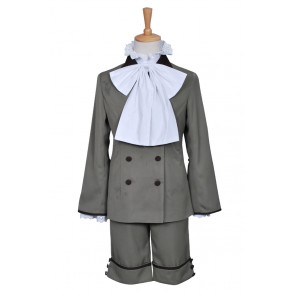 Earl Ciel Phantomhive Yellowish Brown Costume For Black Butler Cosplay