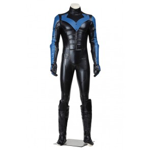 Batman Arkham City Cosplay Nightwing Costume