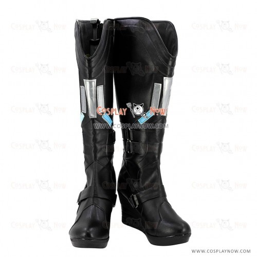 Captain America Cosplay Shoes Black Widow Boots