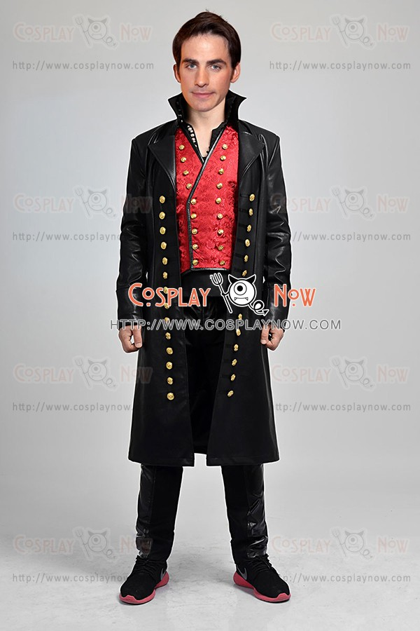 Captain Hook Killian Jones Costume For Once Upon A Time