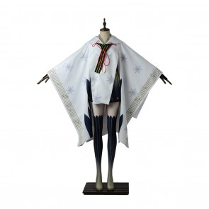 Vocaloid 2 Cosplay Snow Miku 2018 Costume Kimono Dress