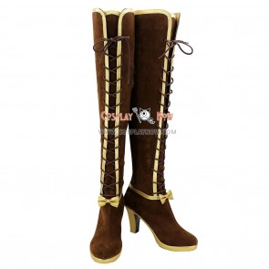 Love Live! Sunshine Cosplay Shoes Ellie Boots