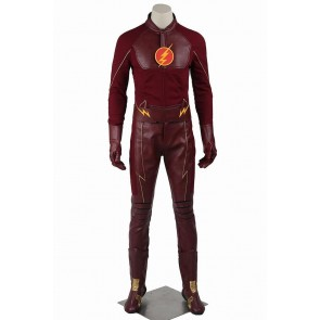 Barry Allen Costume For The Flash Season 1 Cosplay