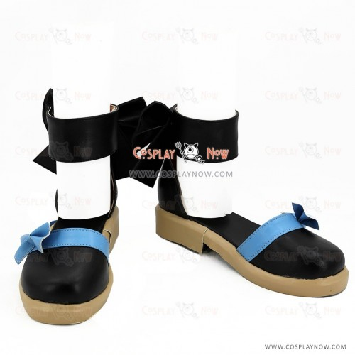 Black Butler Kuroshitsuji Movie: Book of the Atlantic Elizabeth Midford Black Cosplay Shoes