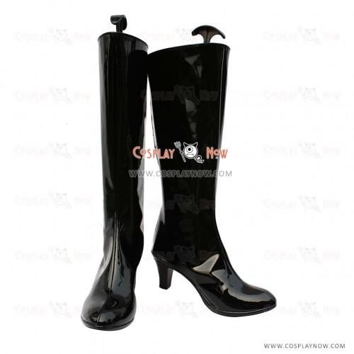 Gintama Cosplay Shoes Shinpachi Kagura Boots