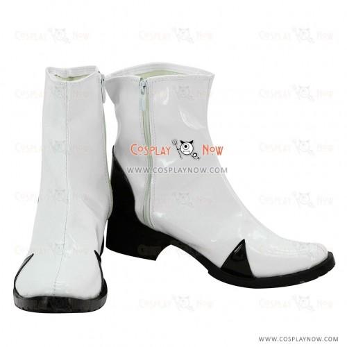 EVA Evangelion Rei  Ayanami Cosplay Shoes Neon Genesis White Boots