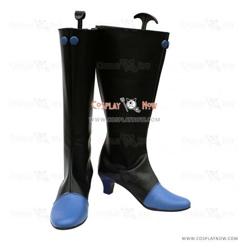 Last Exile-Fam The Silver Wing Cosplay Shoes Liliana il Grazioso Merlo Turan Boots