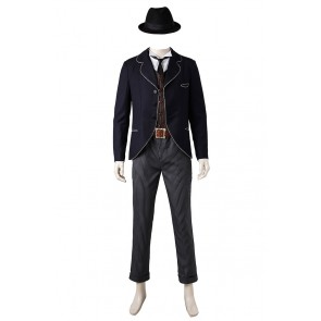 Credence Barebone Costume For Fantastic Beasts and Where to Find Them Cosplay Uniform