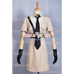 Hetalia: Axis Powers Cosplay Nyotalia North Italy Costume